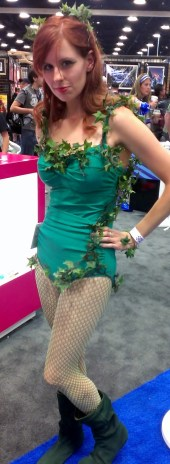 Poison Ivy Cosplayer