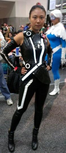 Sexy black costume