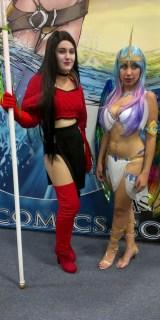 Shi cosplay at Comic-Con