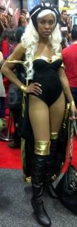 X-Men's Storm Cosplayer