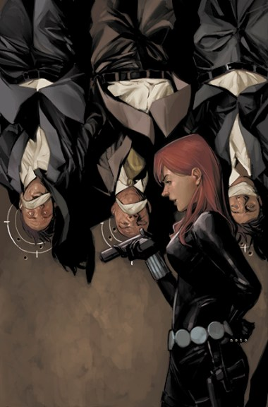 Black Widow interrogation by Phil Noto