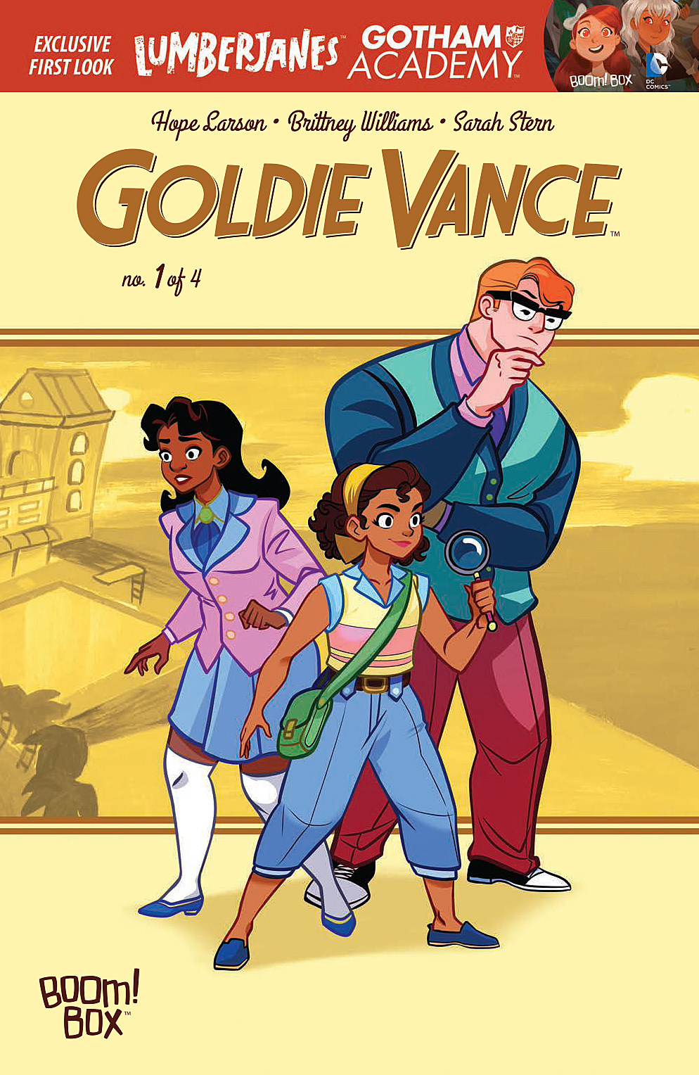 Image result for goldie vance