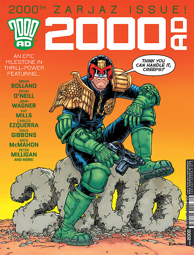 Image result for 2000ad 2000th issue
