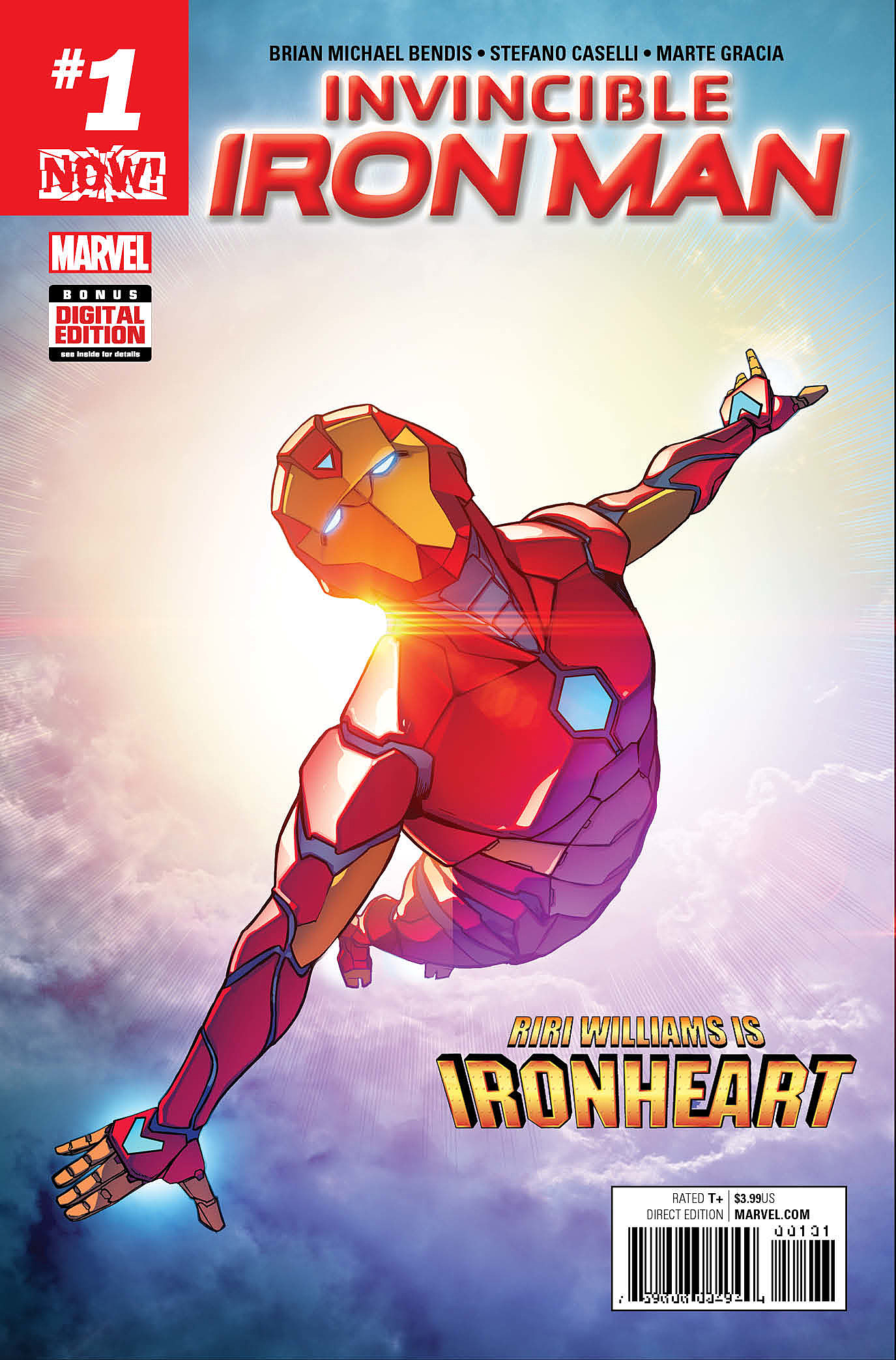 Image result for invincible iron man #1 riri williams