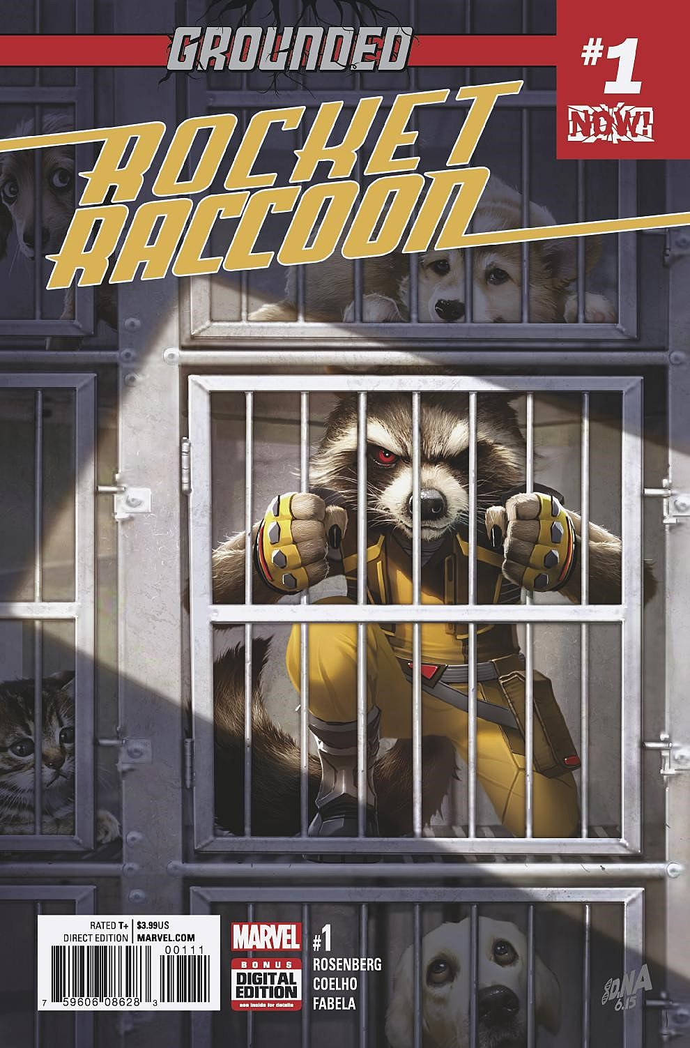 Image result for Rocket Raccoon: Grounded #1