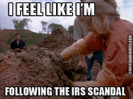 I feel like im following the irs scandal meme
