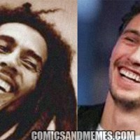 James Franco as Bob Marley