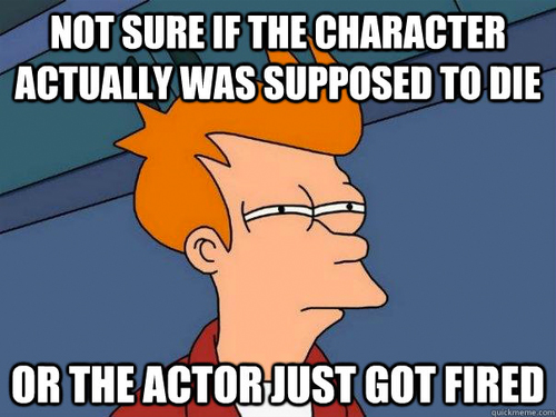 not sure fry meme actor fired or died