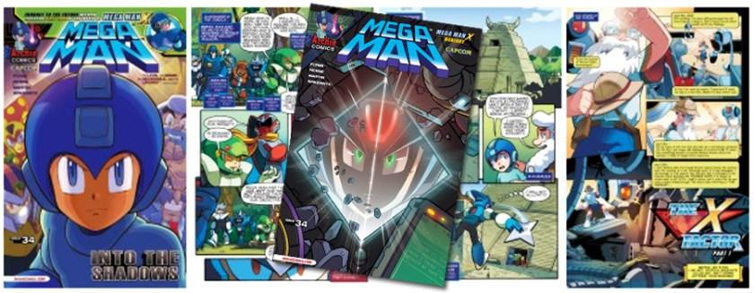 Mega Man X Comic
