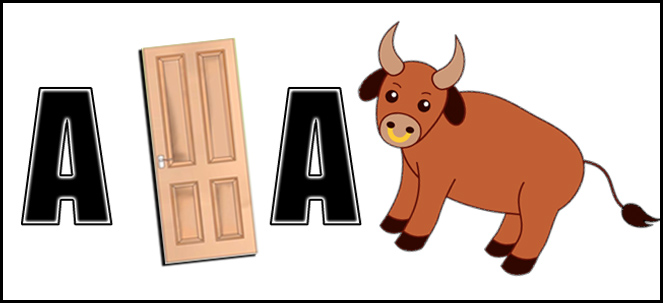 a door a bull comment picture