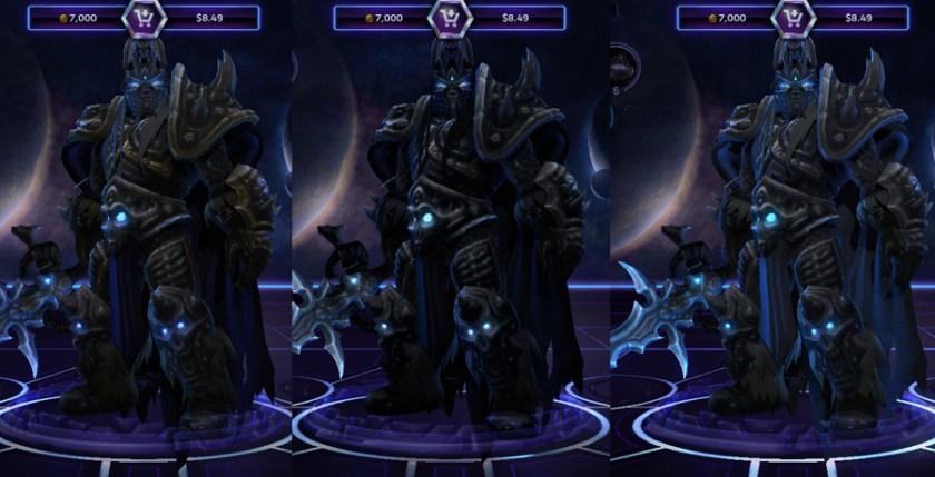 heroes storm Arthas skins default