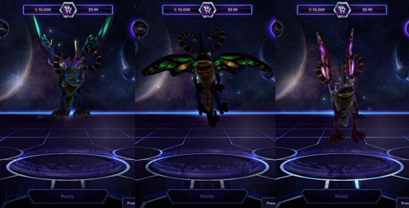 heroes storm Brightwing skins master