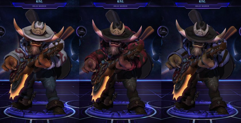 heroes storm ETC skins pure country