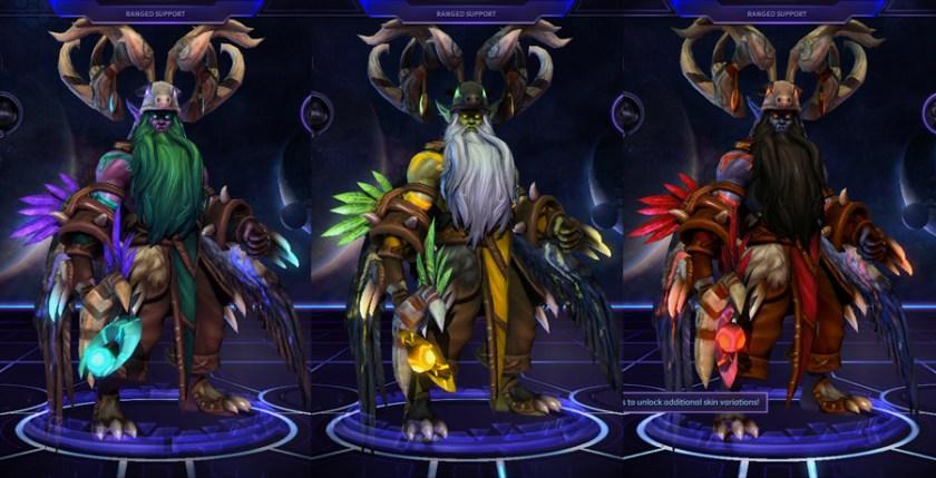 heroes storm Malfurion skins master