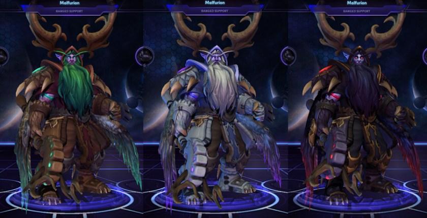 heroes storm Malfurion skins storm mantle
