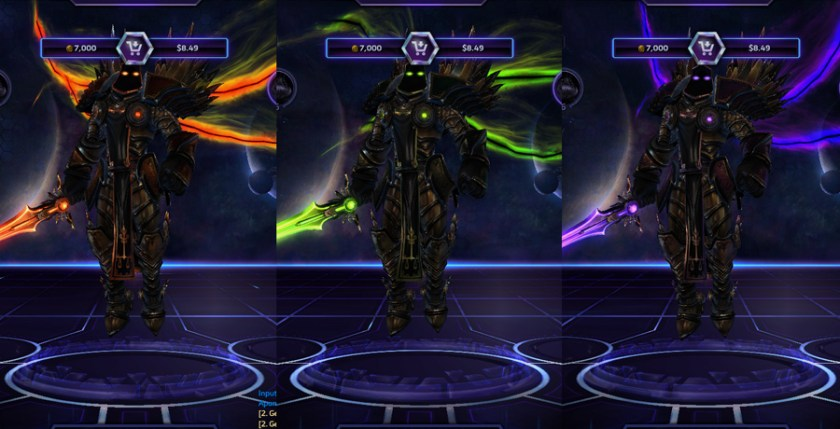 heroes storm Tyrael skins demonic