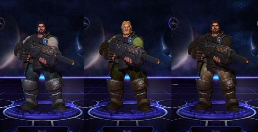 heroes storm raynor skins commander