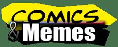comics and memes logo