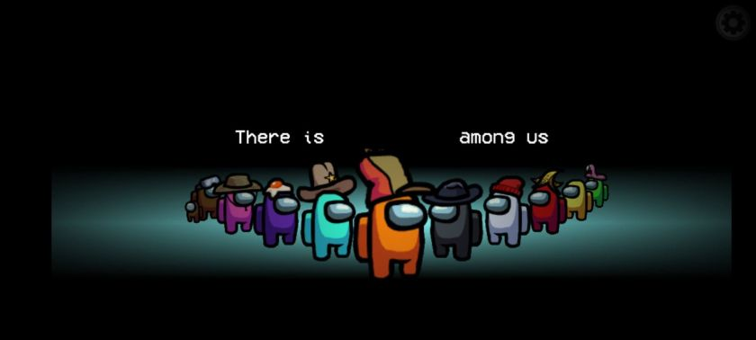 blank among us meme templates crewmates orange there is an imposter among us