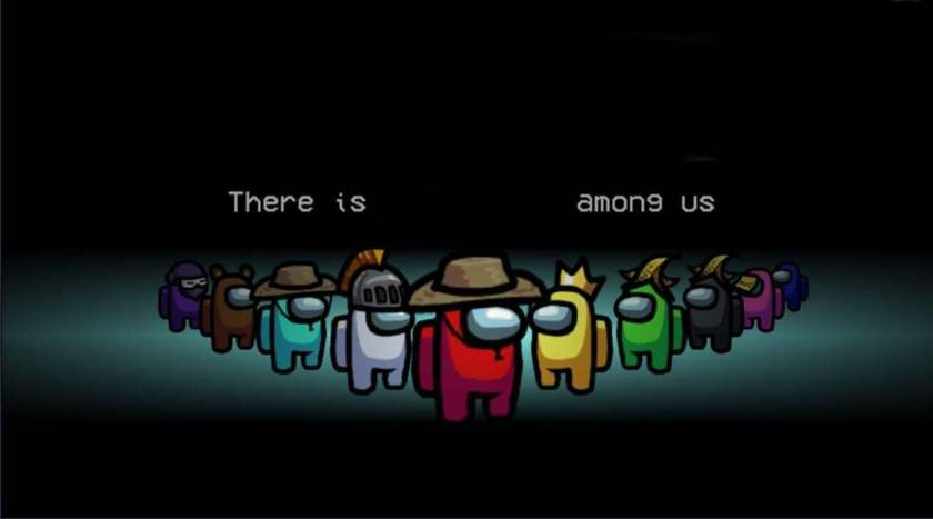 blank among us meme templates crewmates red there is an imposter among us