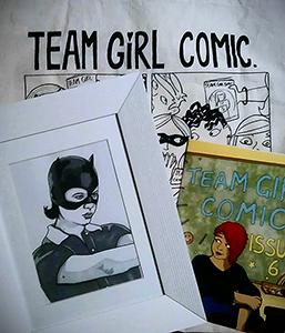 Team Girl Comic