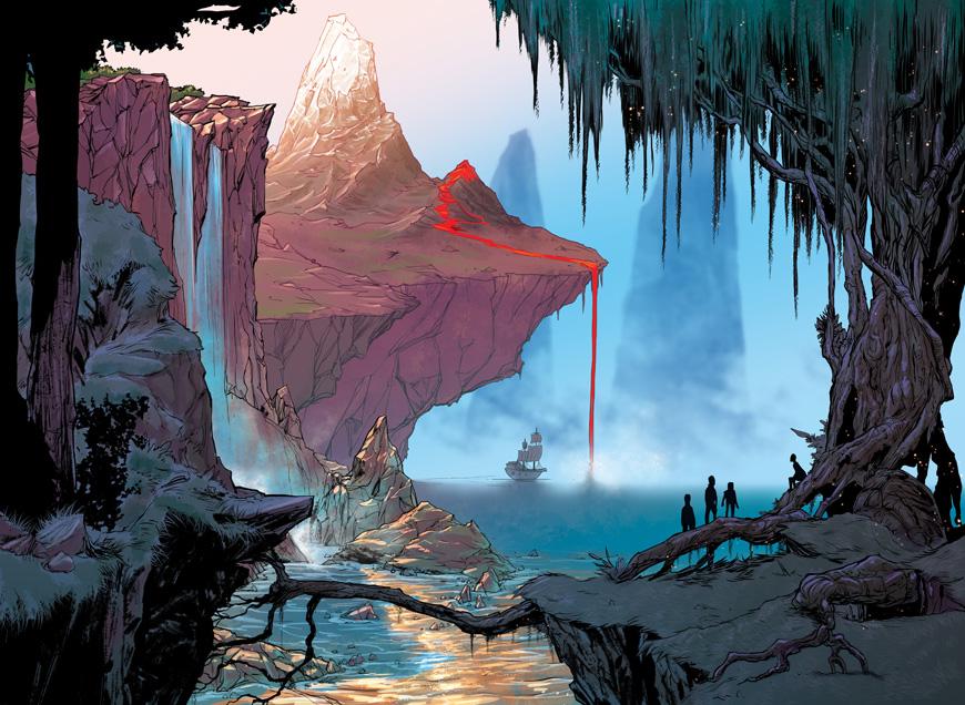 Kick-Watcher: The Steamworld Chronicle & Peter Pan vol. 1 — The Beat