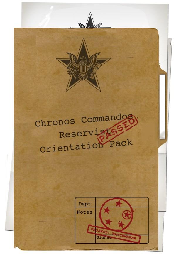 Chronos Commandos Orientation Pack - Cover
