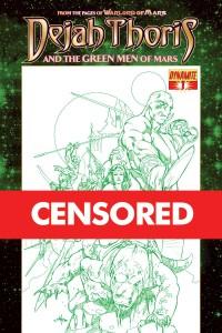 Dejah Thoris & Green Men Rubi - Censored
