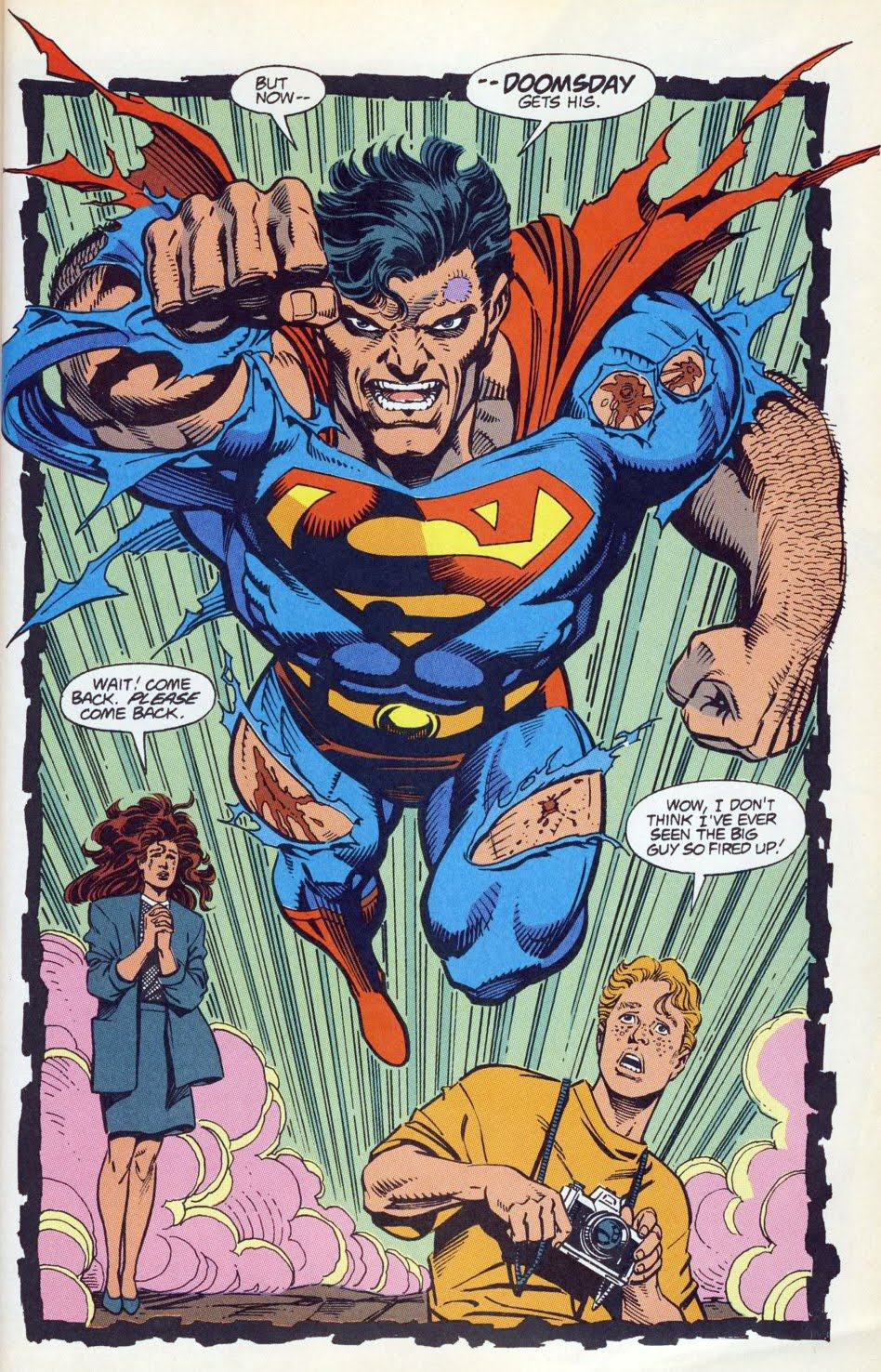 Best Death of Superman is a lot more fun than I was expecting it to be with some total nonsense in the subplots vying with some pretty strong storytelling and a