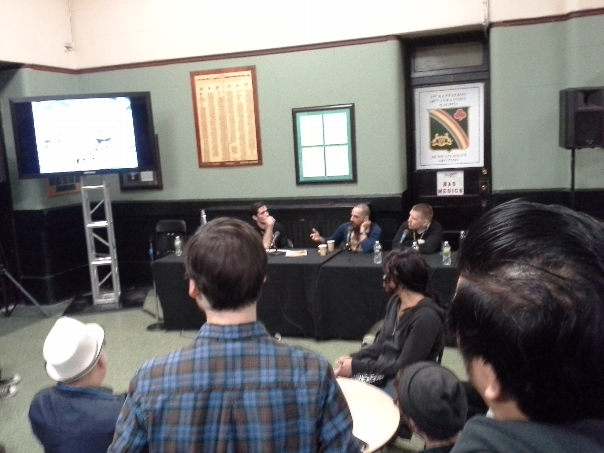 Josh Bayer's Panel