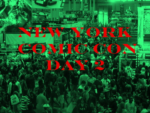 Exclusive Complete 2013 New York Comic Con Programming Friday