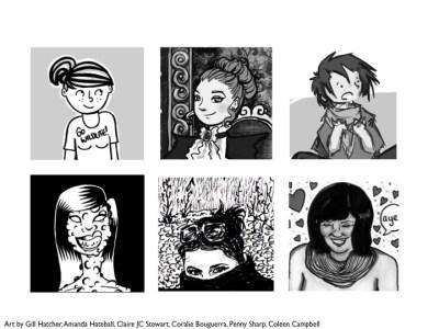 Team Girl Comic - Art!