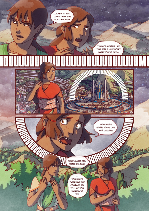 The Firelight Isle Page3