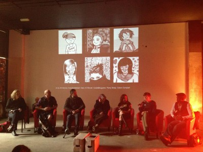 Panel Photo - from Jef Sinclair of Team Girl Comic