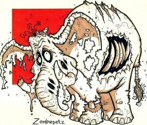 zombie Elephant