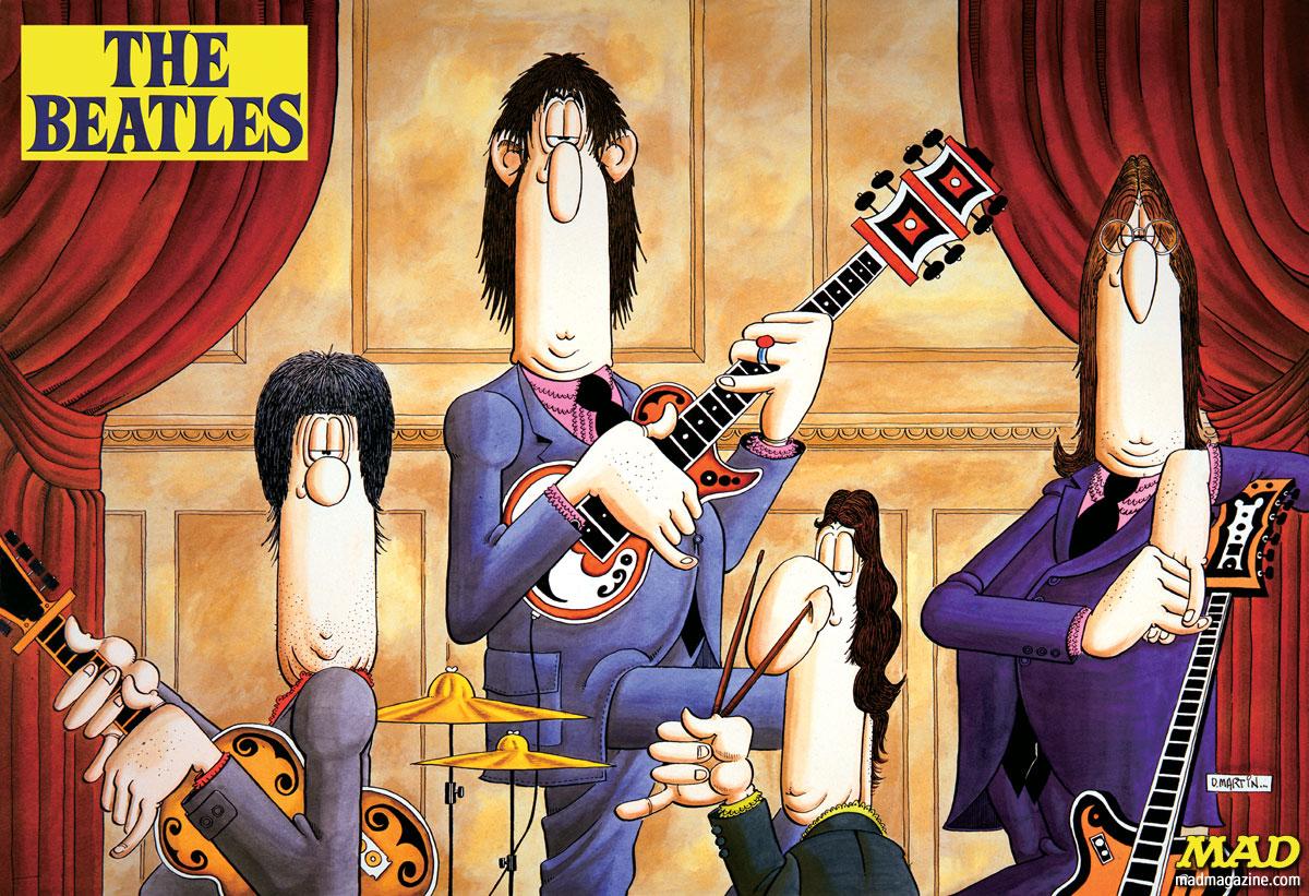 MAD-Magazine-Don-Martin-Beatles