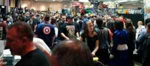 Crowds at Sacramento Wizard World