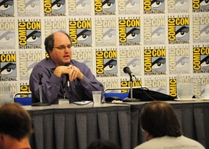 President of the Comic-Con board of directors, John Rogers, returns for the Talk Back.