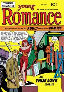 Young Romance #1, 1947.