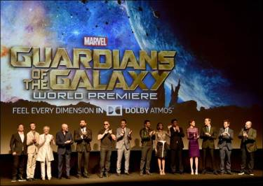 Guardians of the Galaxy full cast