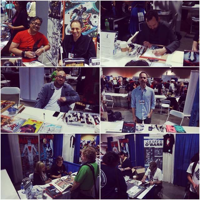 Photos from the Long Beach Comic Con via their FB page