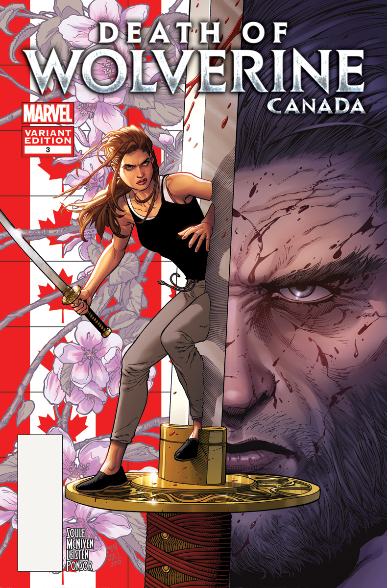 Death_of_Wolverine 3_Canada Variant