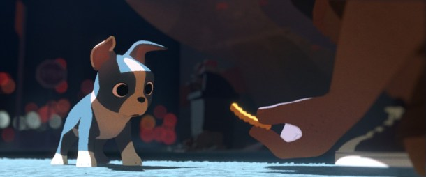 Feast was one of the short animated features nominated today.