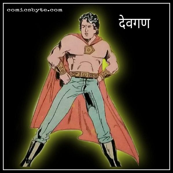 Devgan - Parampara Comics - Superhero
