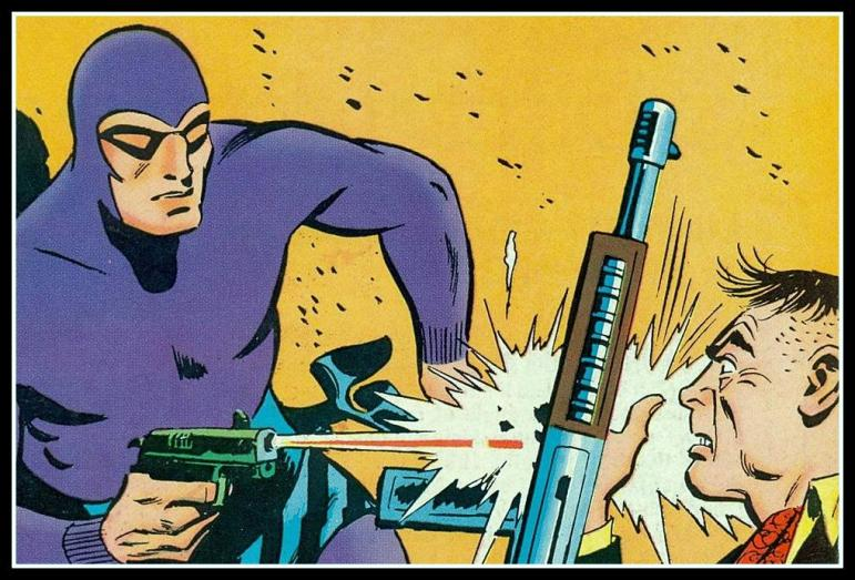A Panel From Phantom Comics - King Feature Syndicate - Lee Falk - Regal Publishers