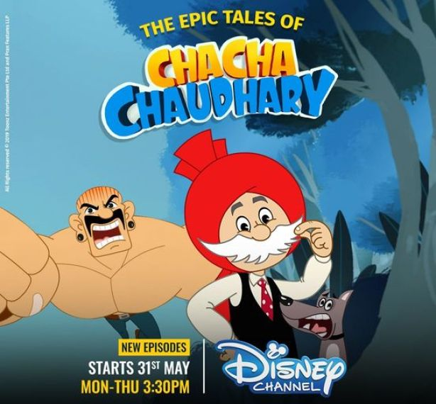 The Epic Tales Of Chacha Chaudhary - Disney Channel