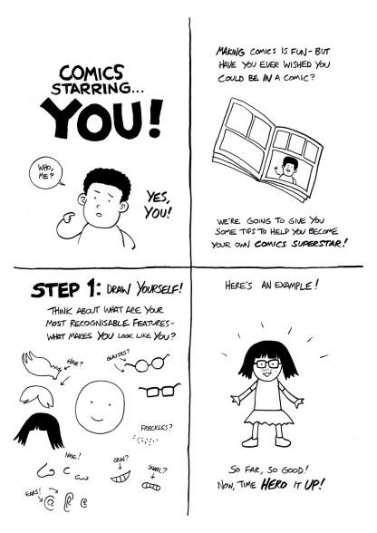 Comics Challenge - COMICS STARRING YOU 1