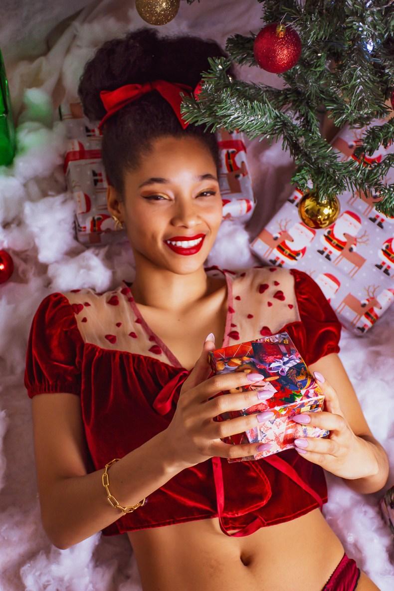 holidays 2020 lingerie editorial evgenia