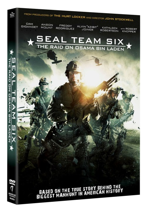 SEAL TEAM SIX DVD and BLU RAY 2013