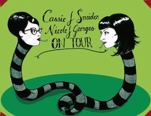 Nicole Georges Cassie Sneider tour 2013